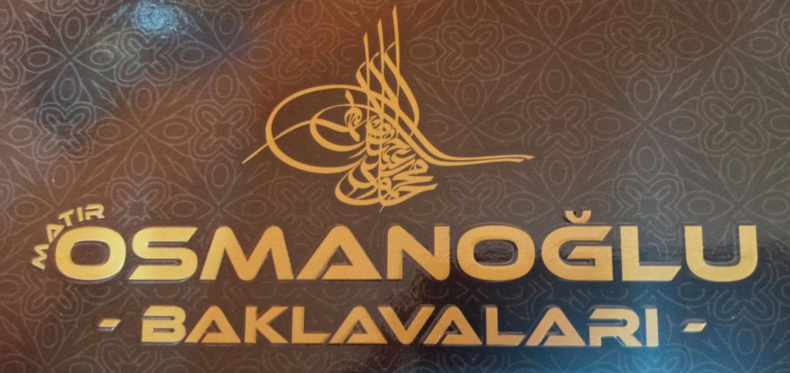 Matır Osmanoğlu Baklava logo