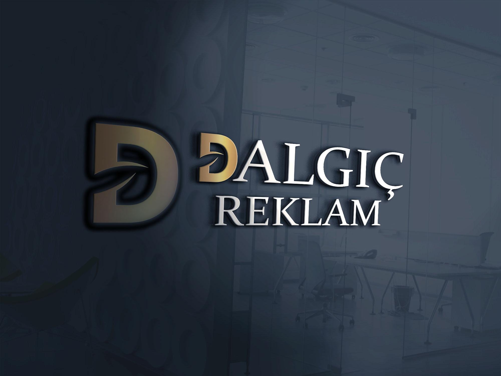 Dalgıç reklam logo