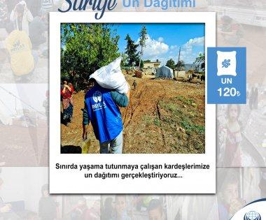 Suriye  Un Yardımı